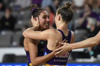 The Firebirds faced more questions about Jemma Mi Mi's omission from last week's Indigenous round during their win over the Magpies on Saturday.