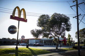 The Craigieburn McDonald's is being deep cleaned.