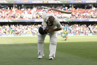 Take a bow: David Warner.