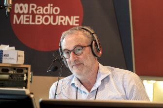 Jon Faine argues that effective emergency broadcasting requires strong connections with local communities.