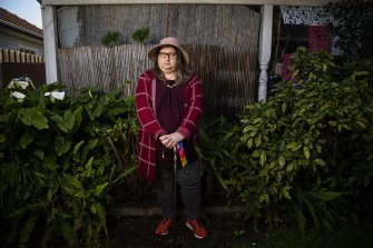 Transgender woman Ricki Spencer says Melbourne Uni is no longer the welcoming space it was.