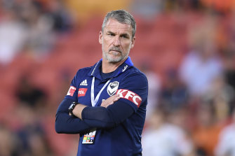 Marco Kurz has been sacked as Victory coach.