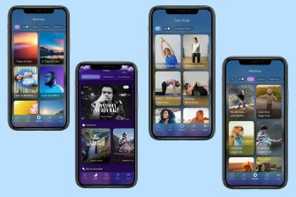 Calm is a one-stop shop for meditation, sleep stories, music, breath and movement techniques, and child-focused activities.