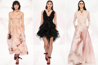The latest collection from Zimmermann was launched online and is influenced by the discipline of dancers.