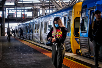 Many thousands more people are catching public transport around Victoria this week.