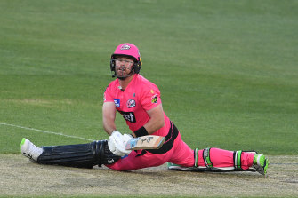 Sixers star Dan Christian claimed the second fasted half-century in Big Bash on Sunday night.