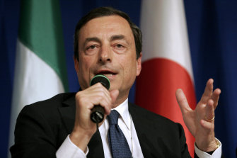 Mario Draghi is betting on a €220 billion stimulus package to revive Italy's ailing economy.