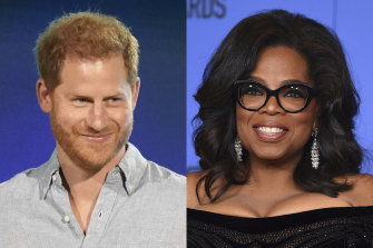 Prince Harry and Oprah Winfrey discuss mental health issues in the  series, The Me You Can't See.