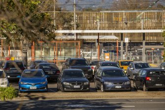 The Croydon railway station in Melbourne is one of the car parks promised to be upgraded as part of the government's program.