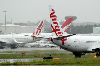 Virgin has suspended international flights.