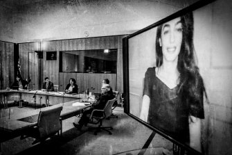 Barrister Amal Clooney told the inquiry via videolink that Australia should adopt strong Magnitsky sanctions.