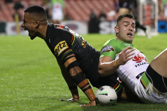 Stephen Crichton continued his remarkable try-scoring run.