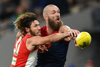 Tom Hickey has been a strong addition for the Swans.
