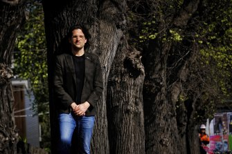VicHealth CEO Sandro Demaio has used his social media profile to tend gently to his followers.