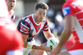 Sam Verrills contested a high tackle charge at the NRL judiciary on Tuesday night.