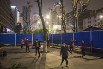 China has introducing a coding system that allows healthy, low-risk citizens to move freely outside.