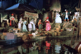 The Pirates of the Caribbean 'wench auction' is a thing of the past.