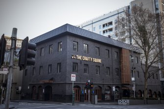 The Crafty Squire pub in downtown Melbourne has been listed as a COVID-19 exposure site.
