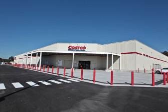 The Costco Wholesale store at Marsden Park opened in 2017.