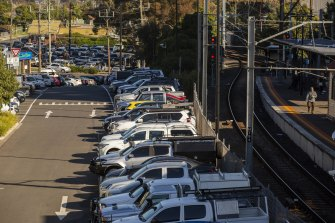 Ringwood train station in Melbourne  is among the 47 sites the Morrison government chose for commuter car park upgrades in a scheme now slammed by the Auditor-General.