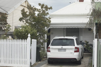 Belle Gibson's Northcote home.