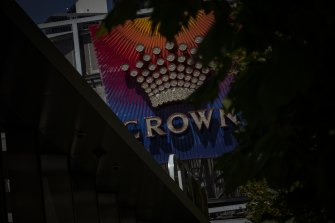 The royal commission is examining Crown's Melbourne casino licence.
