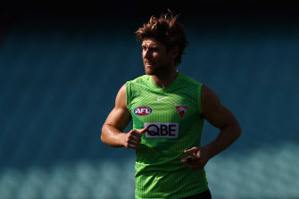 Dane Rampe is also in line to return for the Sydney Swans this weekend.