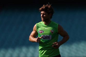 Dane Rampe juga akan kembali untuk Sydney Swans akhir pekan ini.