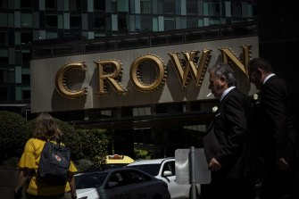Blackstone already owns 10 per cent of Crown.