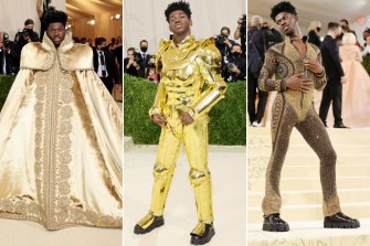 Queer and here: Lil Nas X's red carpet transformation.