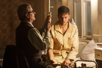 Jeremy Irvine plays the American soldier-turned-spy Randolph Bentley in the Bourne spin-off series Treadstone.