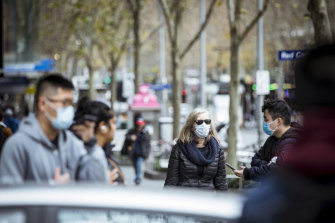 Burnet Institute epidemiologist Professor Mike Toole pointed to emerging research suggesting face masks are 85 per cent effective.