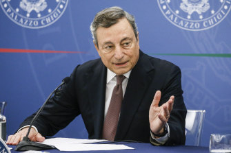 Italian Prime Minister Mario Draghi has the skills and experience to fill Merkel's shoes, but is compromised by Italy's struggling economy.
