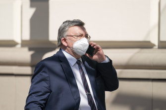 """Russia's Governor to the International Atomic Energy Agency (IAEA), Mikhail Ulyanov, relayed messages between iran and the US during their """"indirect talks"""" in Vienna."""