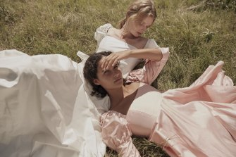 Macgraw is one label that is catering more to the bridal market.