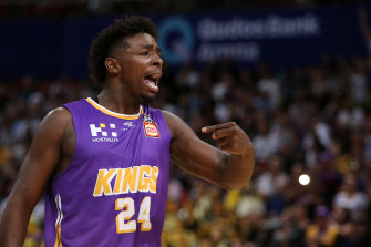 From NBL to NBA: Former Sydney Kings player Jae'Sean Tate feels at home with the Houston Rockets.