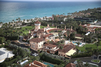 """Renovations are underway at Mar-a-Lago """"to make it more commodious"""" for the Trumps."""