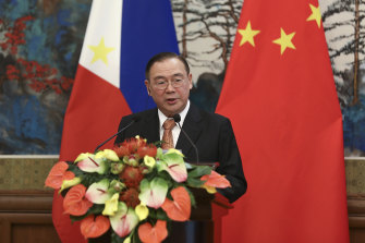 "Filipino Secretary of Foreign Affairs Teodoro Locsin says ""the usual suave diplomatic speak doesn't work""."