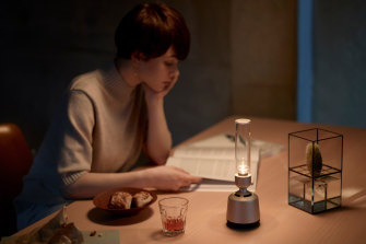 Sony's Glass speaker sounds good and creates a soft, warm glow.