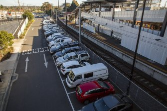 The existing carpark at Ringwood station, one of several sites chosen for upgrades under the federal government's controversial congestion fund.