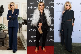 Carla Zampatti has maintained a lifetime look of easy elegance.