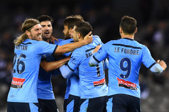 Sydney FC are 11 points clear at the top of the A-League.