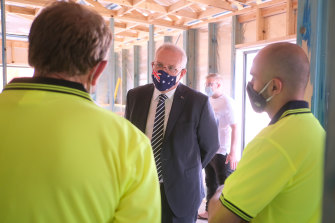 Prime Minister Scott Morrison will on Tuesday announce an expansion of the government's apprenticeship wage subsidy program in a bid to create 70,000 jobs.