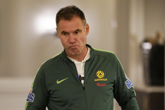 Ante Milicic confirmed he was stepping down as Matildas coach on Sunday.