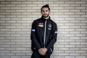 The Pies are closing in on a deal with Brodie Grundy.