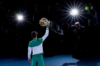 Novak Djokovic is the King of Melbourne Park and perhaps the greatest male player of them all.
