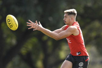 Sydney youngster Elijah Taylor is the subject of 'very serious' allegations, according to the Swans.