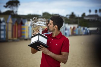 Novak Djokovic will chase a 10th Australian Open crown at next year's opening grand slam.
