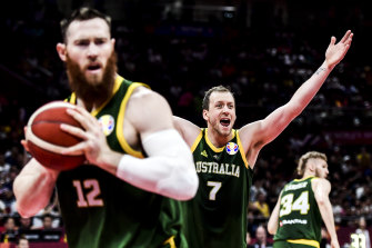 The Boomers have risen to third in the world rankings.
