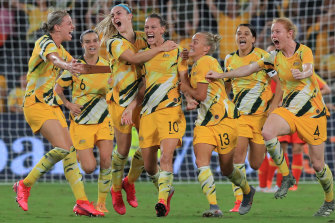 The Matildas haven't played on home soil since their Olympic qualifying tournament was shifted from Wuhan to Sydney early last year.